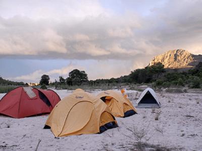 Camping à madagascar